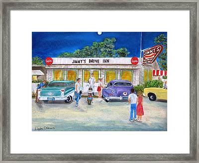 Jimmy's Drive Inn Framed Print