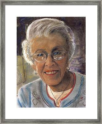 Jim's Mom Lois  Framed Print by Randy Sprout
