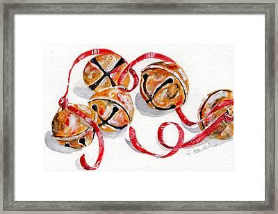 Jingle Bells Framed Print