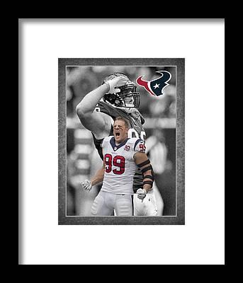 Houston Framed Prints