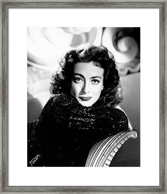 Joan Crawford, Ca. Early 1940s Framed Print