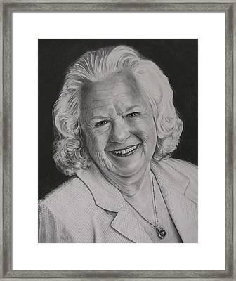 Joan Donna Austin Framed Print