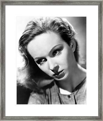 Joan Greenwood Framed Print by Silver Screen
