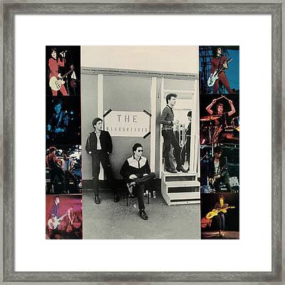 Joan Jett - Album 1983 - Back Cover Framed Print by Epic Rights
