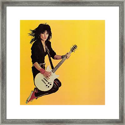 Joan Jett - Album 1983 Framed Print by Epic Rights