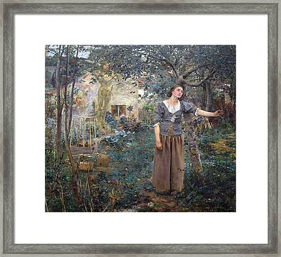 Joan Of Arc Framed Print