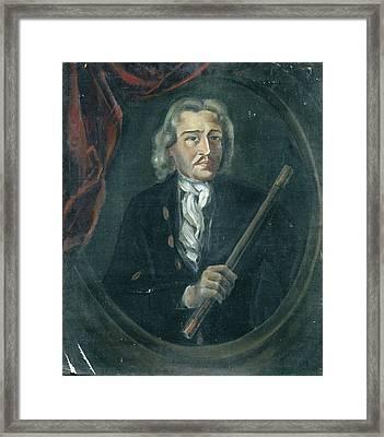 Joan Van Hoorn 1653-1711 Framed Print by Litz Collection