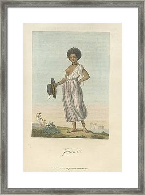Joanna Framed Print by British Library