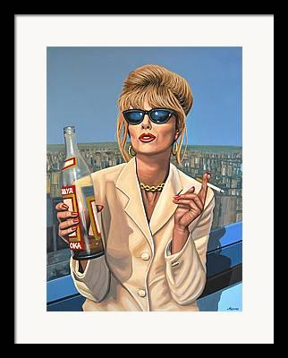 Bond Girls Framed Prints