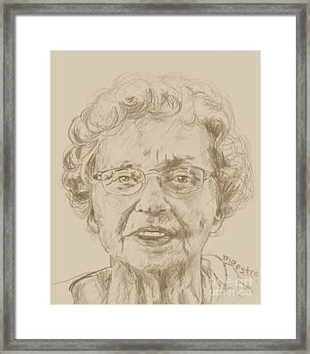 Joanne Framed Print by  Maestro