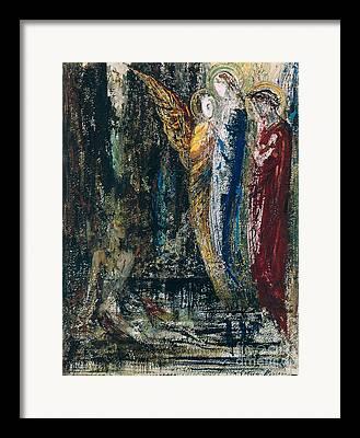 Gustave Moreau Poster Framed Prints