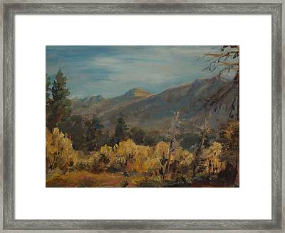 Job's Sister Framed Print by Edward White