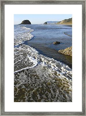 Jockey Cap Rock Framed Print