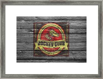 Jockey Club Framed Print