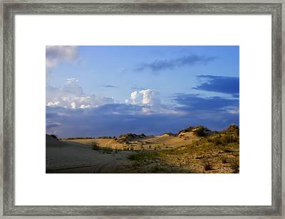 Jockey's Ridge State Park Framed Print by Skip Tribby