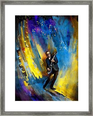 Joe Bonamassa 03 Framed Print by Miki De Goodaboom
