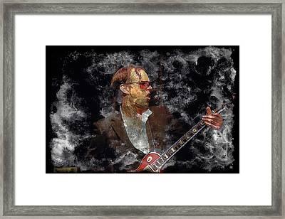 Joe Bonamassa Framed Print by John Delong