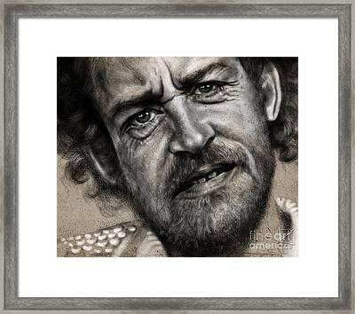 Joe Cocker Framed Print by Andre Koekemoer