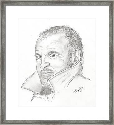 Joe Cocker Framed Print by Steven White