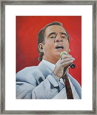 Joe Dolan Framed Print