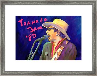 Joe Ely Framed Print by G Cannon