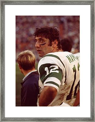 Joe Namath  Framed Print