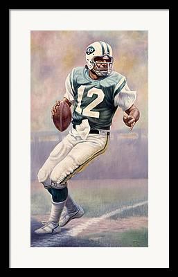 Alabama Sports Art Framed Prints