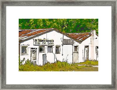 Joe Taranto Seafood Co Framed Print by J Michael Nettik