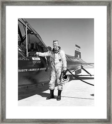Joe Walker As X-15 Test Pilot Framed Print
