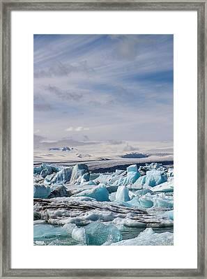 Joekulsarlon Glacial Lagoon Framed Print
