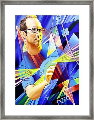 Joel Cummins  Framed Print by Joshua Morton