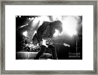 Joeperry-gp03 Framed Print by Timothy Bischoff