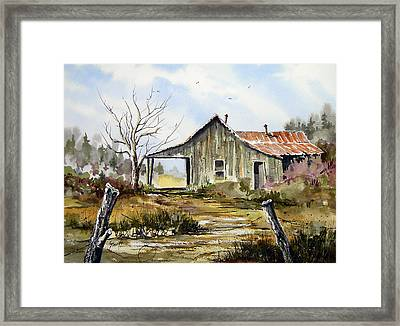 Joe's Place Framed Print
