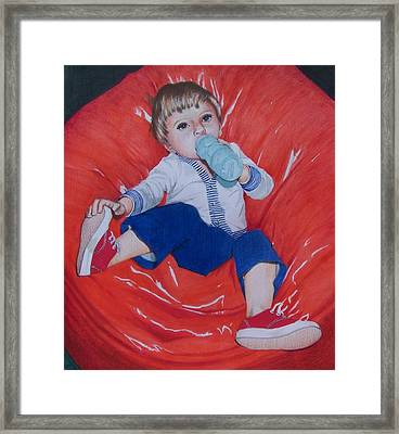 Joey Framed Print