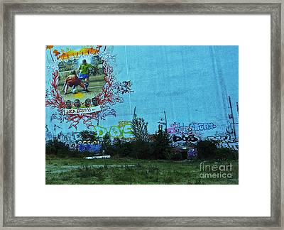 Joga Bonito - The Beautiful Game Framed Print by Andy Prendy