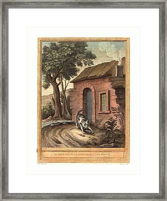 Johann Christoph Teucher After Jean-baptiste Oudry German Framed Print by English School