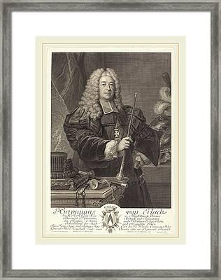 Johann Georg Wille After Carlo Francesco Rusca Framed Print