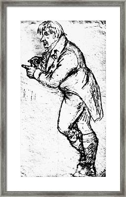 Johann Gottlieb Fichte (1762-1814) Framed Print by Granger