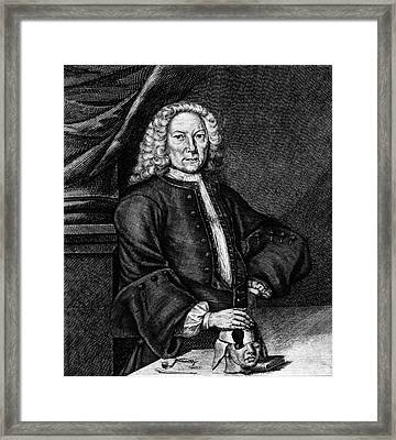Johann Jacob Hartlieb Framed Print