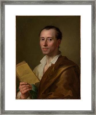 Johann Joachim Winckelmann 1717-1768 Framed Print