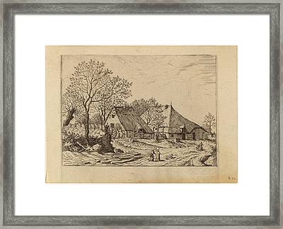Johannes And Lucas Van Doetechum After The Master Framed Print by Quint Lox