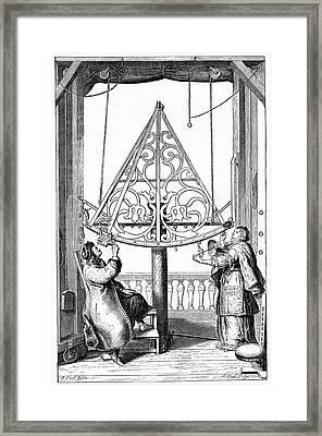 Johannes Hevelius Framed Print