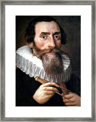 Johannes Kepler Framed Print by Universal History Archive/uig