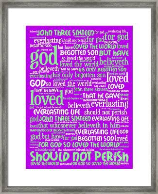 John 3-16 For God So Loved The World 20130622p60 Vertical Framed Print by Wingsdomain Art and Photography