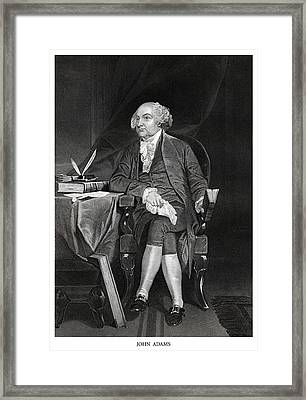 John Adams Framed Print