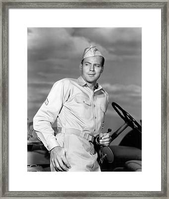 John Agar In Joe Butterfly  Framed Print by Silver Screen