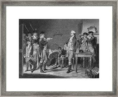 John Andre (1751-1780) Framed Print by Granger