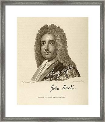 John Anstis Framed Print