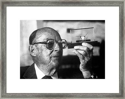 John Bardeen Framed Print by Emilio Segre Visual Archives/american Institute Of Physics