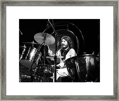 John Bonham 1977 Led Zeppelin Framed Print